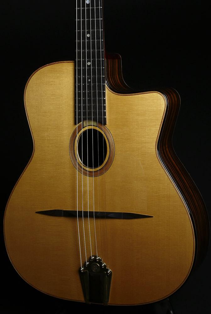 Django akustische Modell Karosserie Vorderansicht