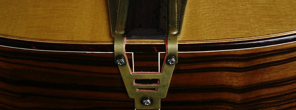 Django akustische Modell Endpin und schwimmende Brücke