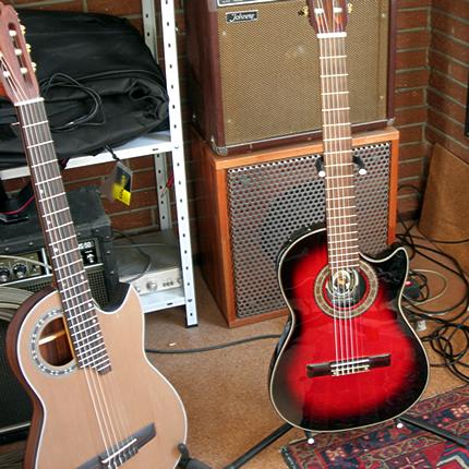 Vorteile eines festen Körpers klassischen Gitarren für Blog Geschichte Bild