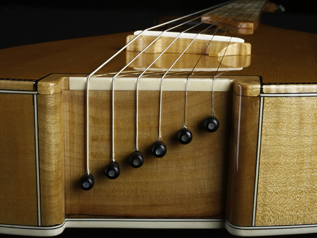 Traveller Deluxe model bridge and string pins