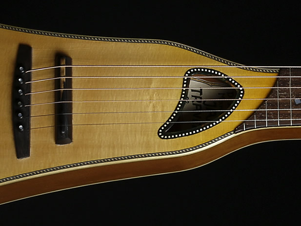 Traveller Slide Edition soundhole
