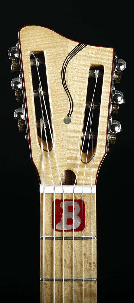 Traveller Deluxe model headstock front view