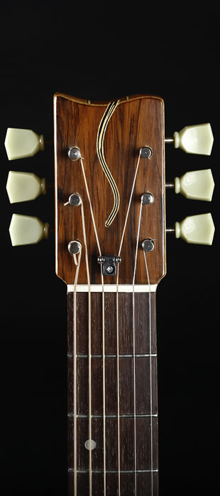 Traveller Standard Edition headstock front view