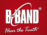 B-Band Logo akustische Tonabnehmer und Vorverstärker
