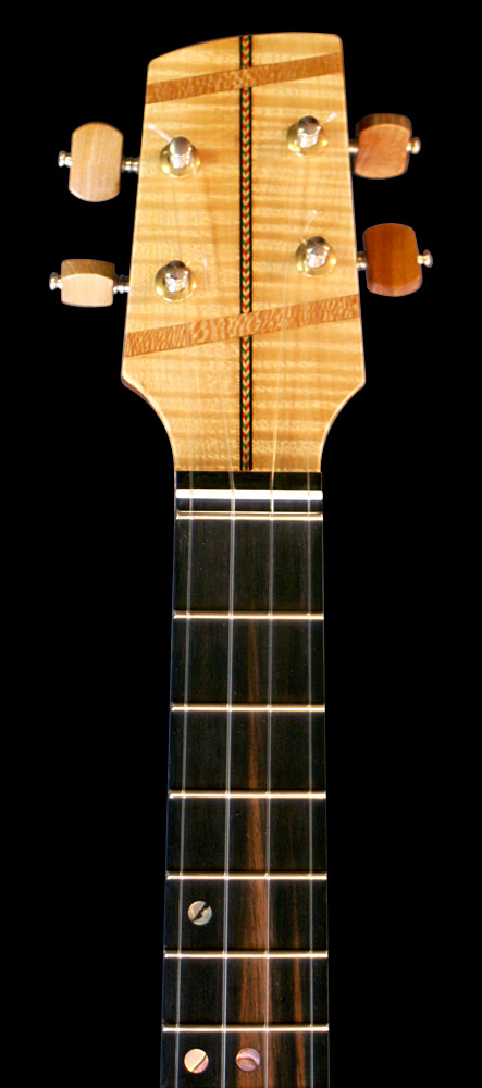 UK-lele model headstock front view