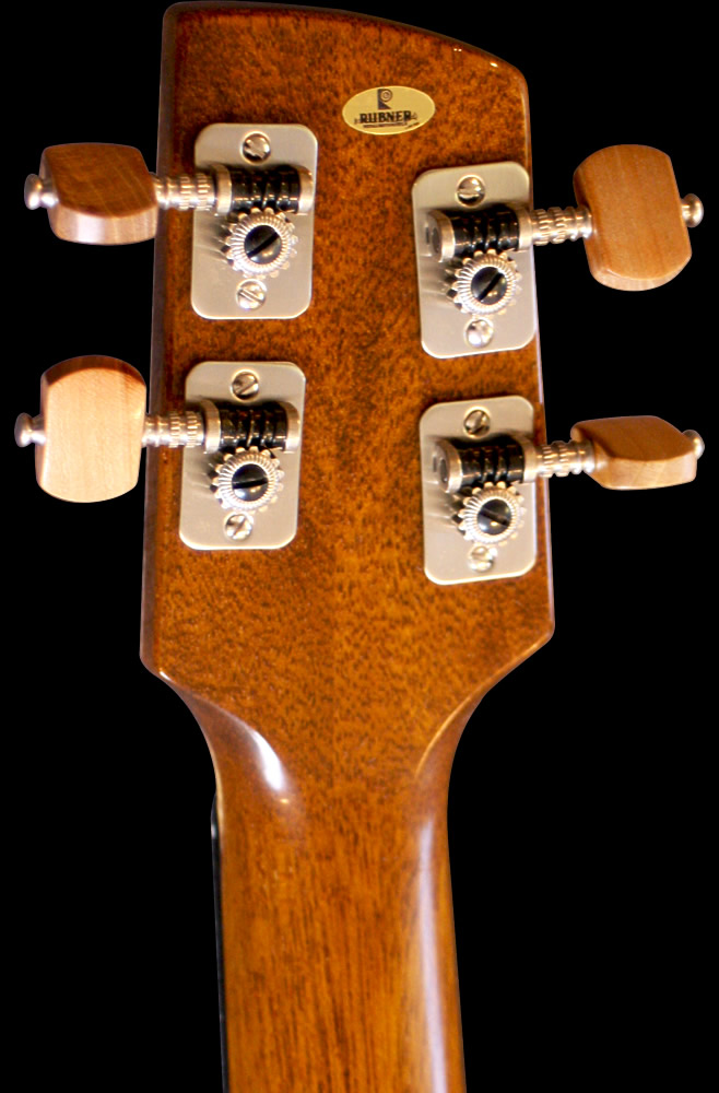 UK-lele model headstock rear view