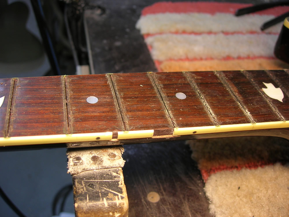 Hohner TWP Western damage to neck binding