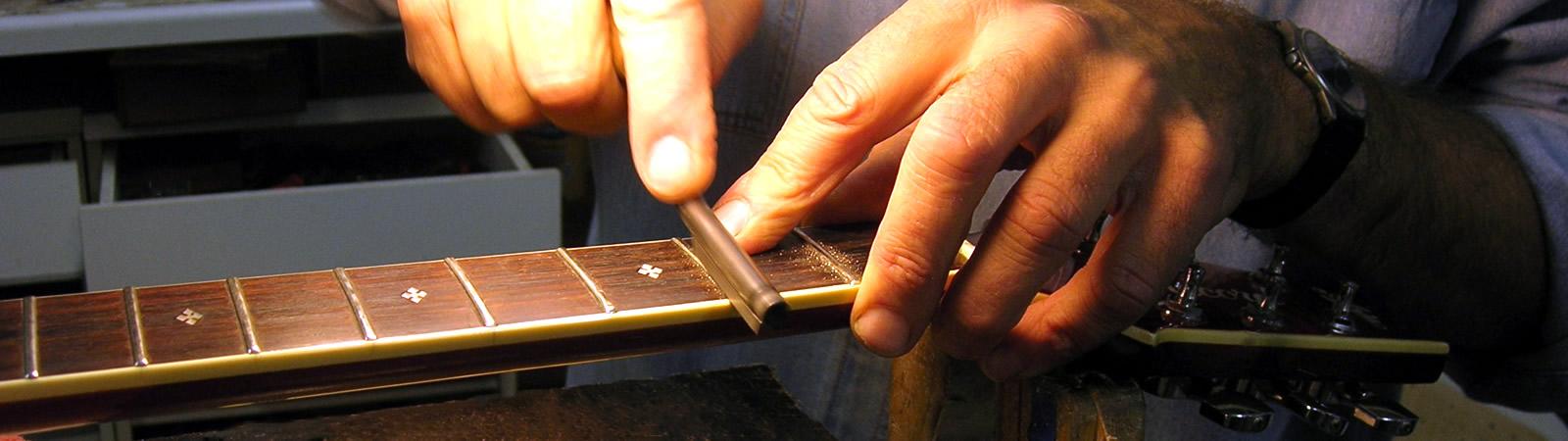 Krueger Guitars Home Page guitar services banner image