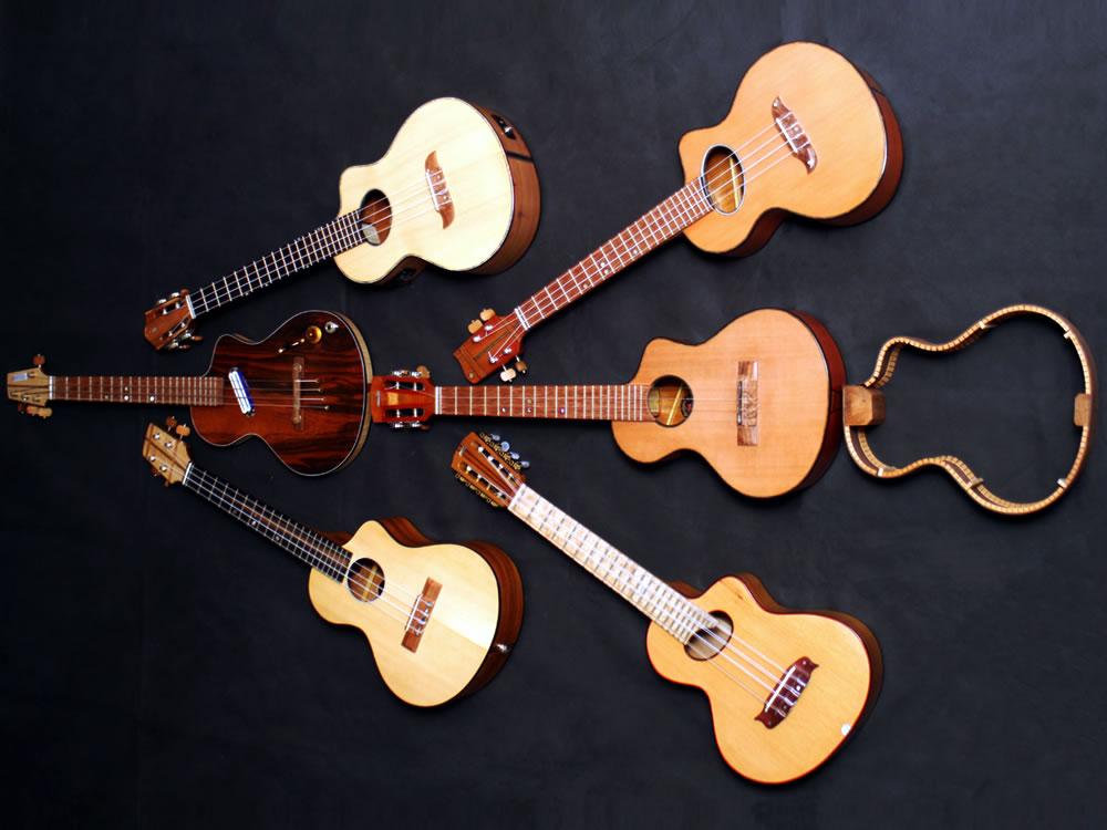 Krueger Guitars Ukulele Family Tree Image